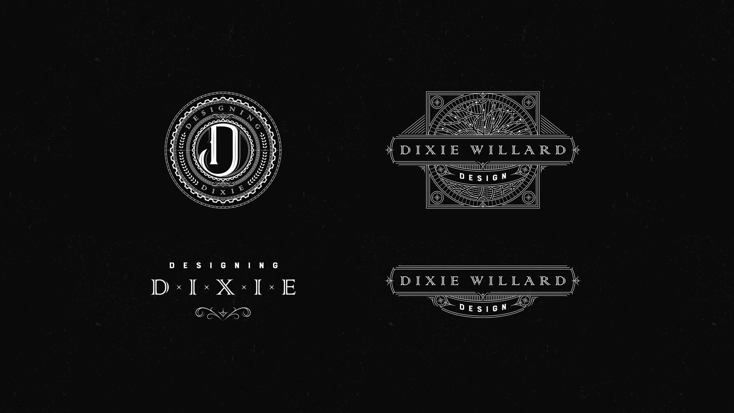 Designing Dixie Dixie Willard Logo System