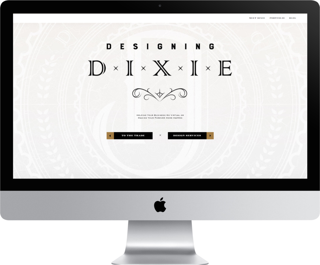 Designing Dixie Website Design