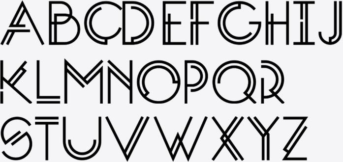 Eva Ocean Brand Font System H1