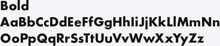 Eva Ocean Brand Font System H2-4 - Bold