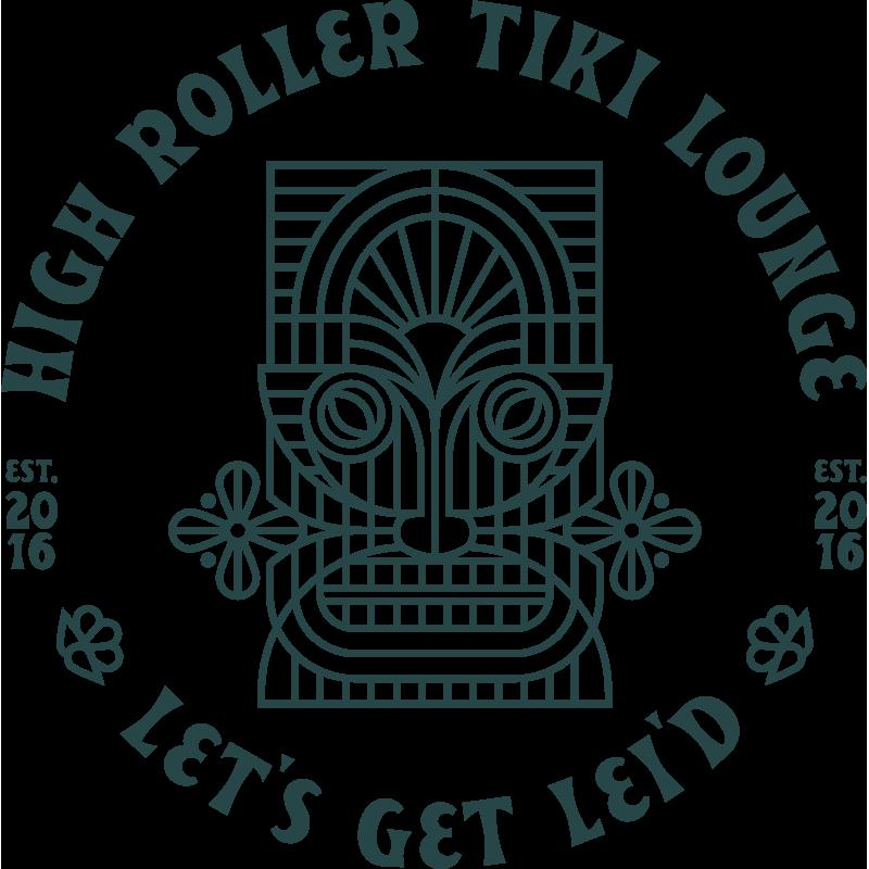 High Roller Tiki Lounge Lets Get Lei'd | 1 Color