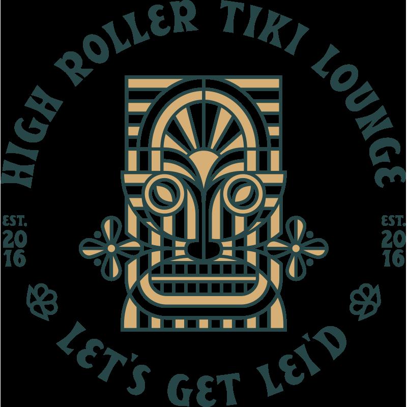High Roller Tiki Lounge Lets Get Lei'd | Full Color