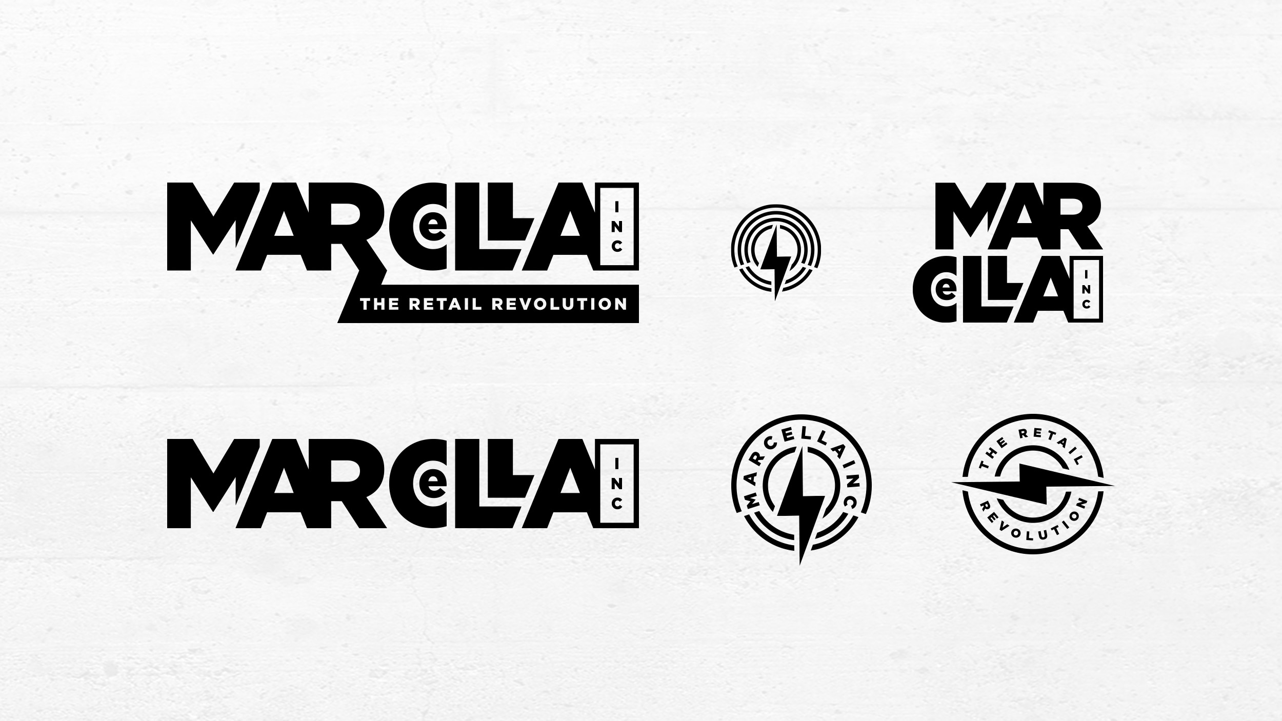 Marcella Inc Brand Identity Logo System