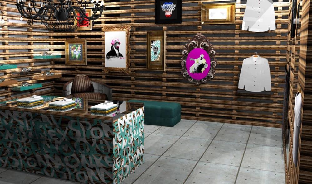 Monkey Sport Apparel Merchandise and Website Design Case Study