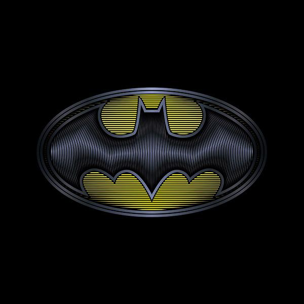 Six Flags Batman Logo Illustration