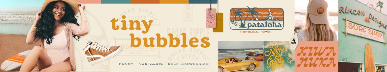 Tiny Bubbles Brand Stylescape - Medium