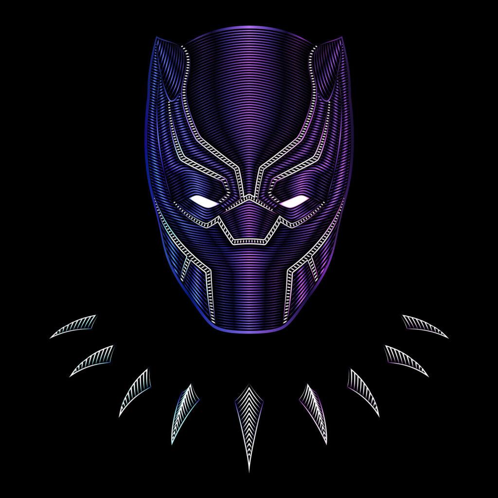 Universal Studios Black Panther Illustration