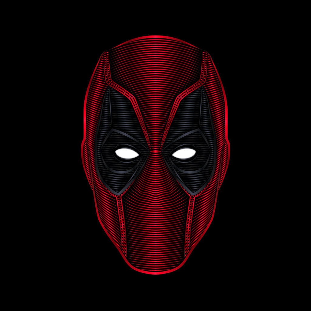 Universal Studios Deadpool Illustration