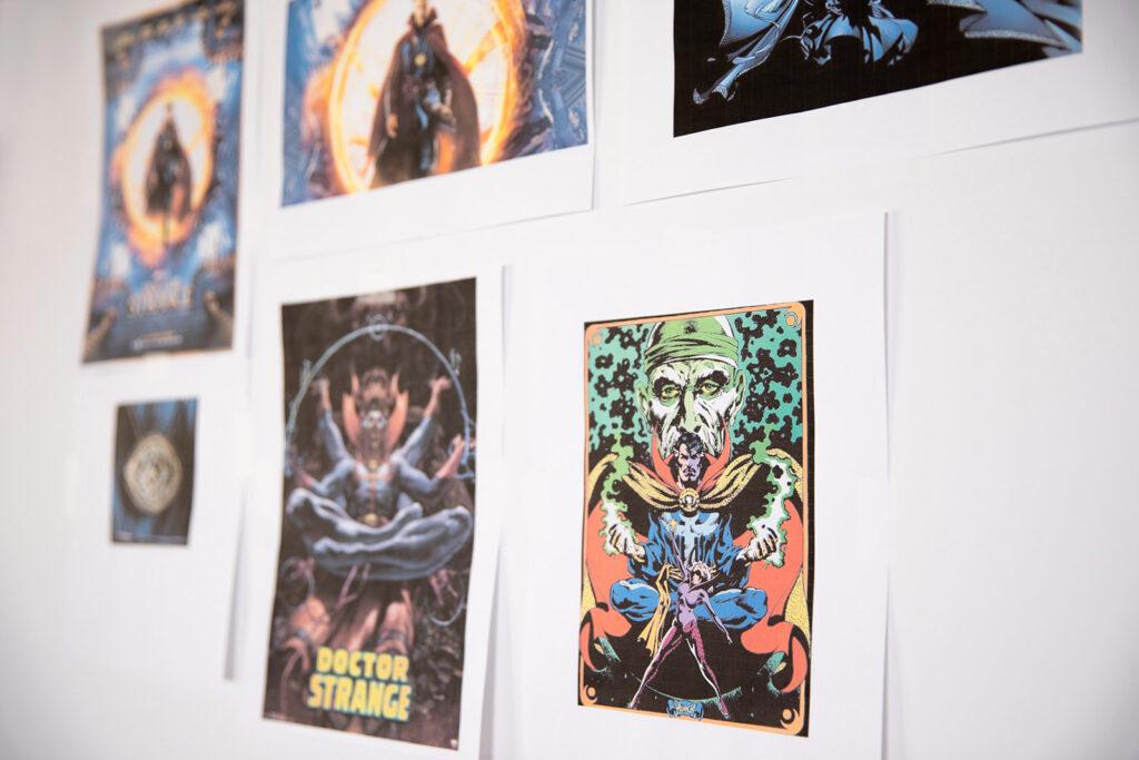 Universal Studios Doctor Strange Inspiration Board