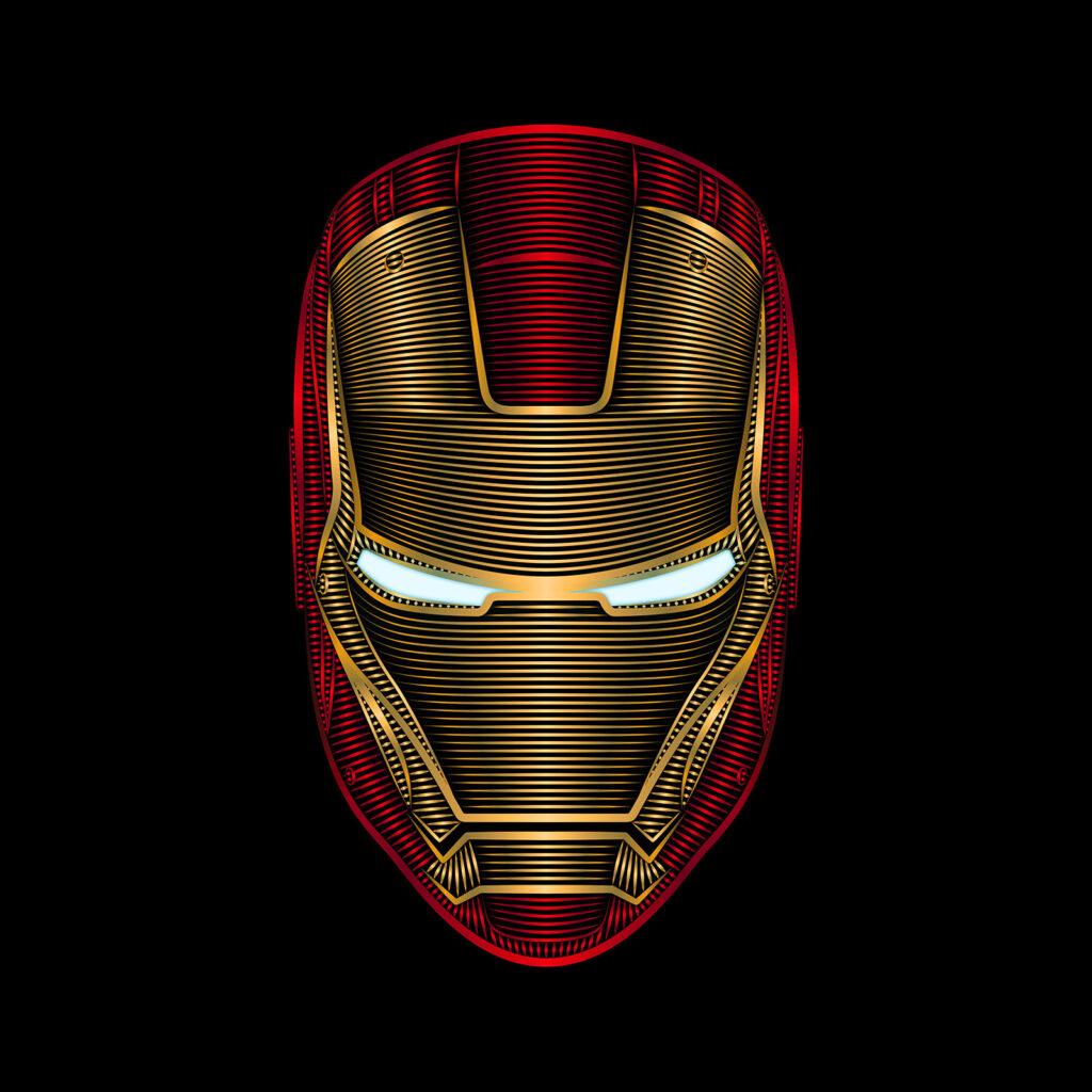 Universal Studios Iron Man Illustration