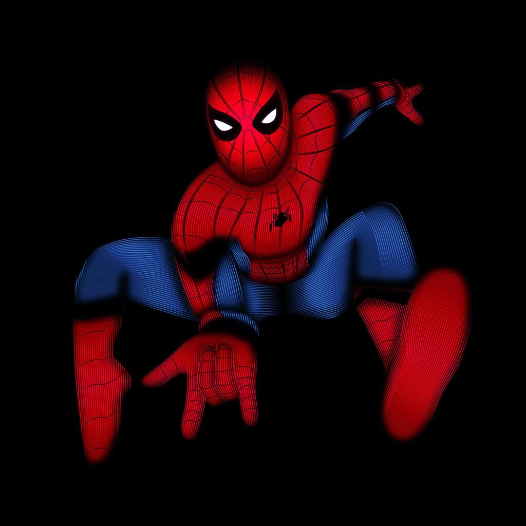 Universal Studios Spider-Man Full Illustration