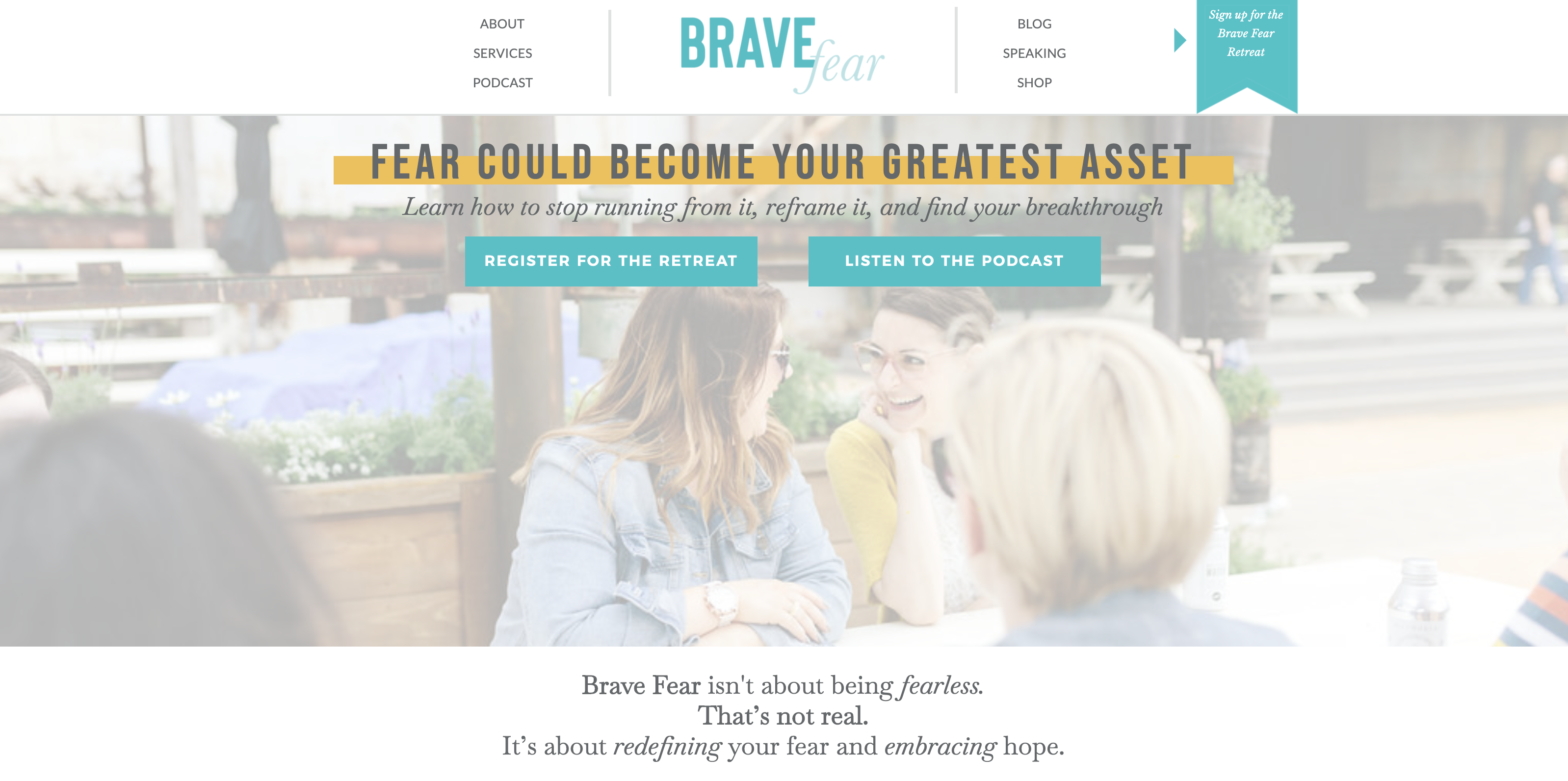 brianne wik brave fear website