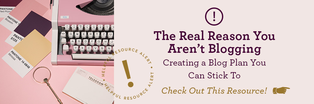 creating a blog plan resource