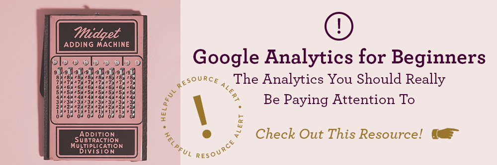 google analytics resource library