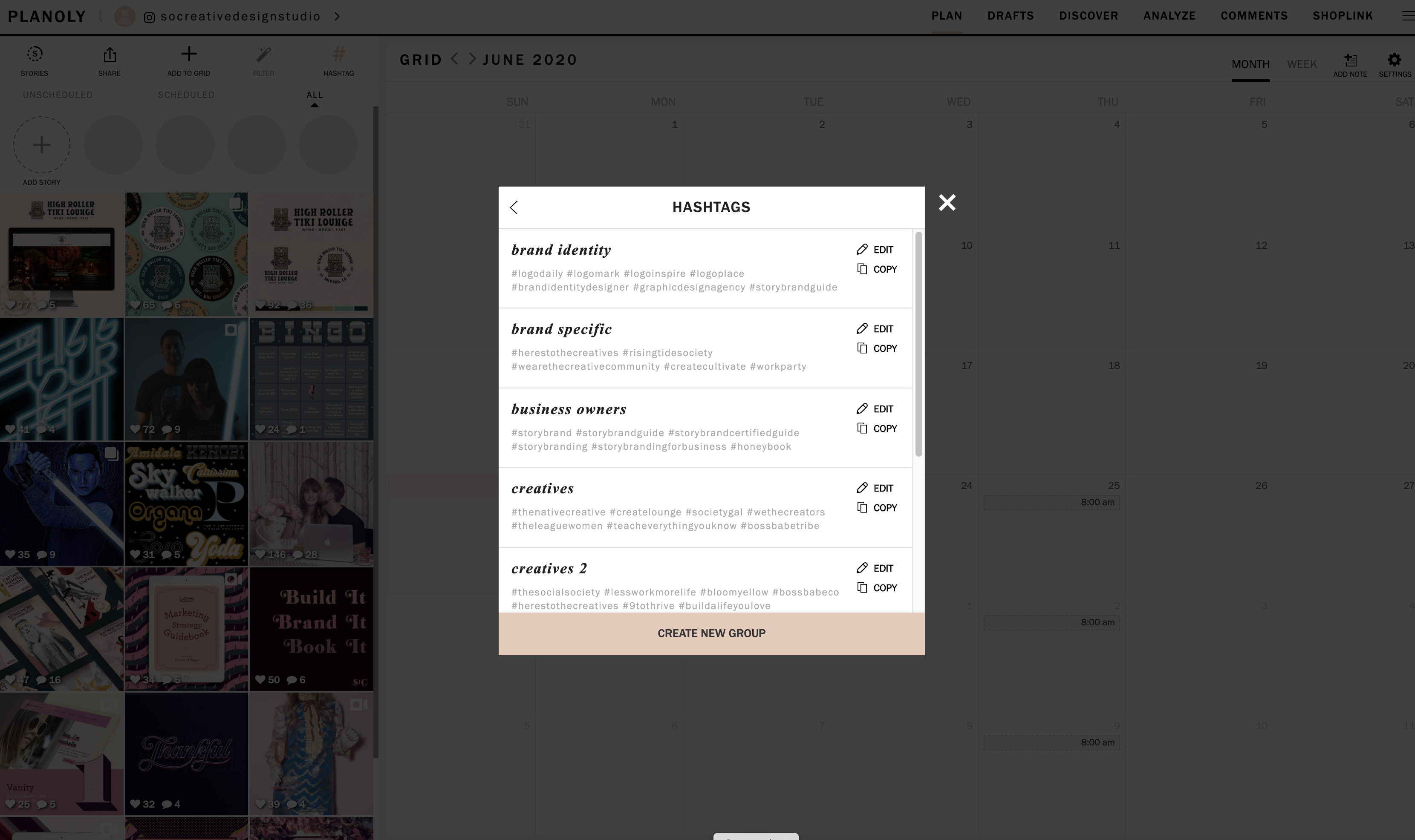 planoly content creation tools