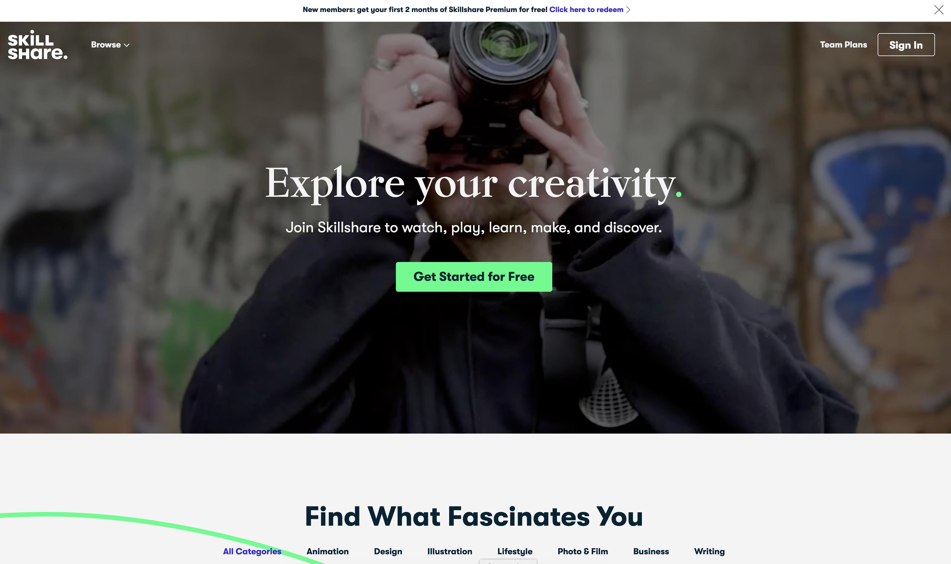 skillshare content creation tools