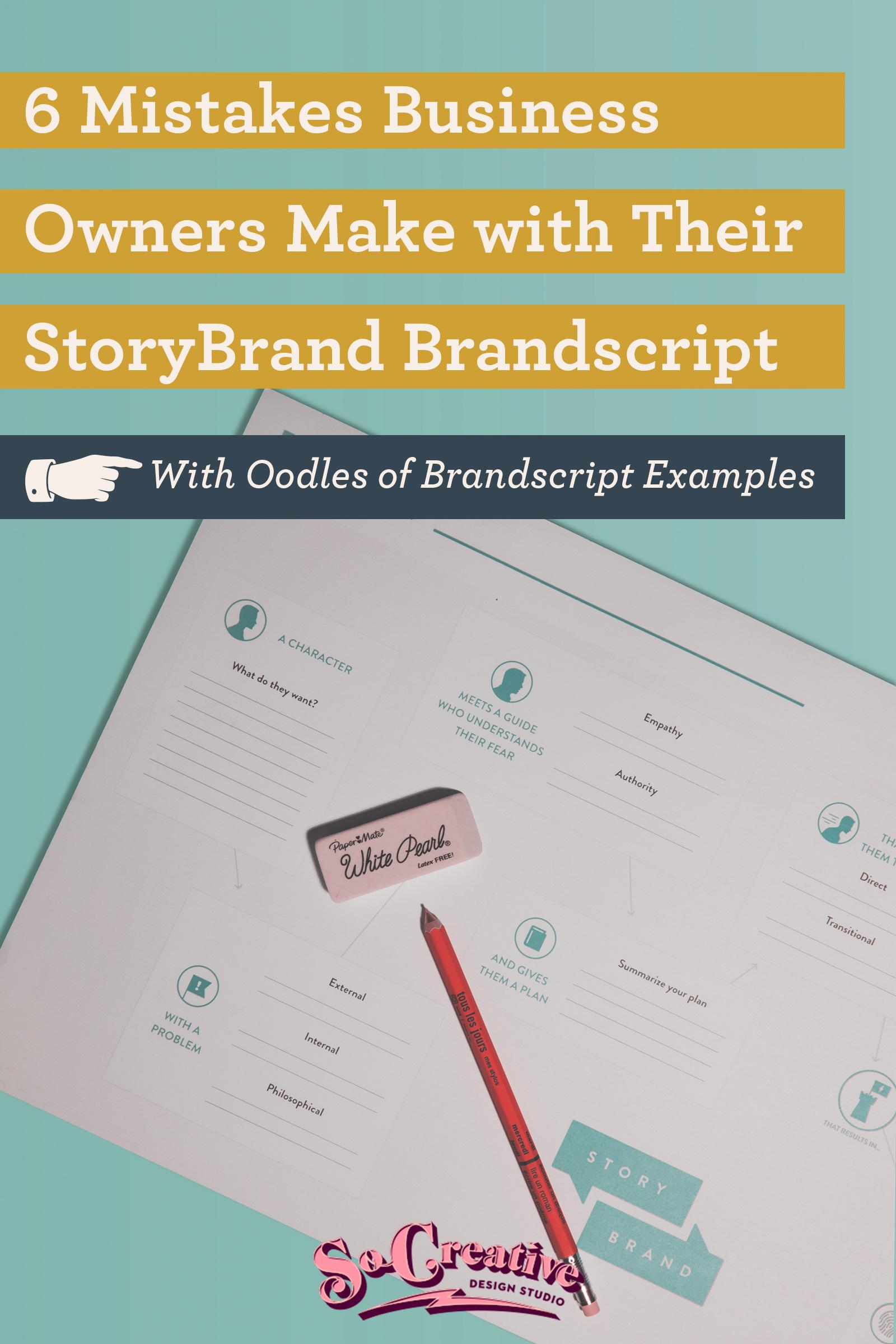 storybrand brandscript examples