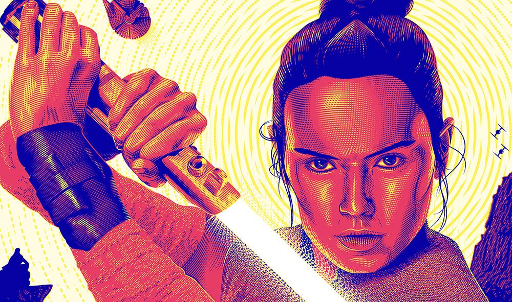 Feature - Star_Wars Art Illustration Rey - The Last Jedi