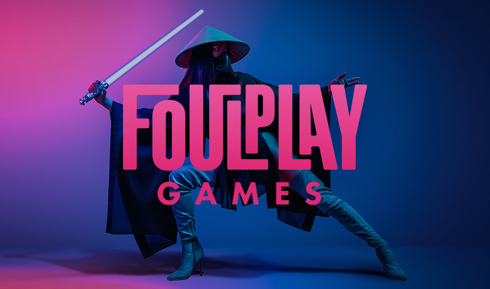 FoulPlay Games Identity Design - Featured