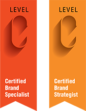 Marty Neumeier Certified Brand Specialist Strategist Ribbons