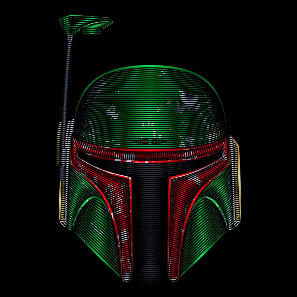 Star Wars Art Illustration Boba Fett Mercenary