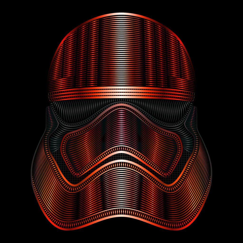 Star Wars Art Illustration Captain Phasma New Order