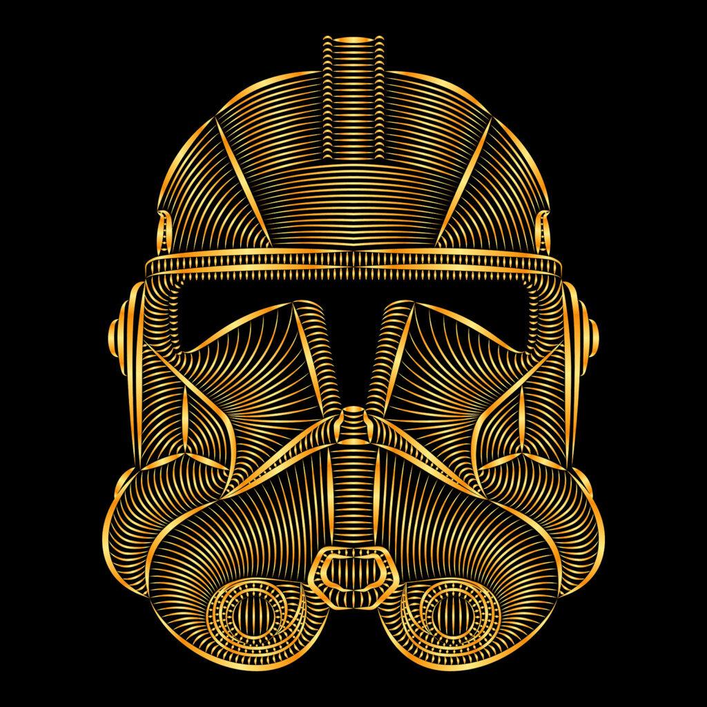 Star Wars Art Illustration Clone Trooper