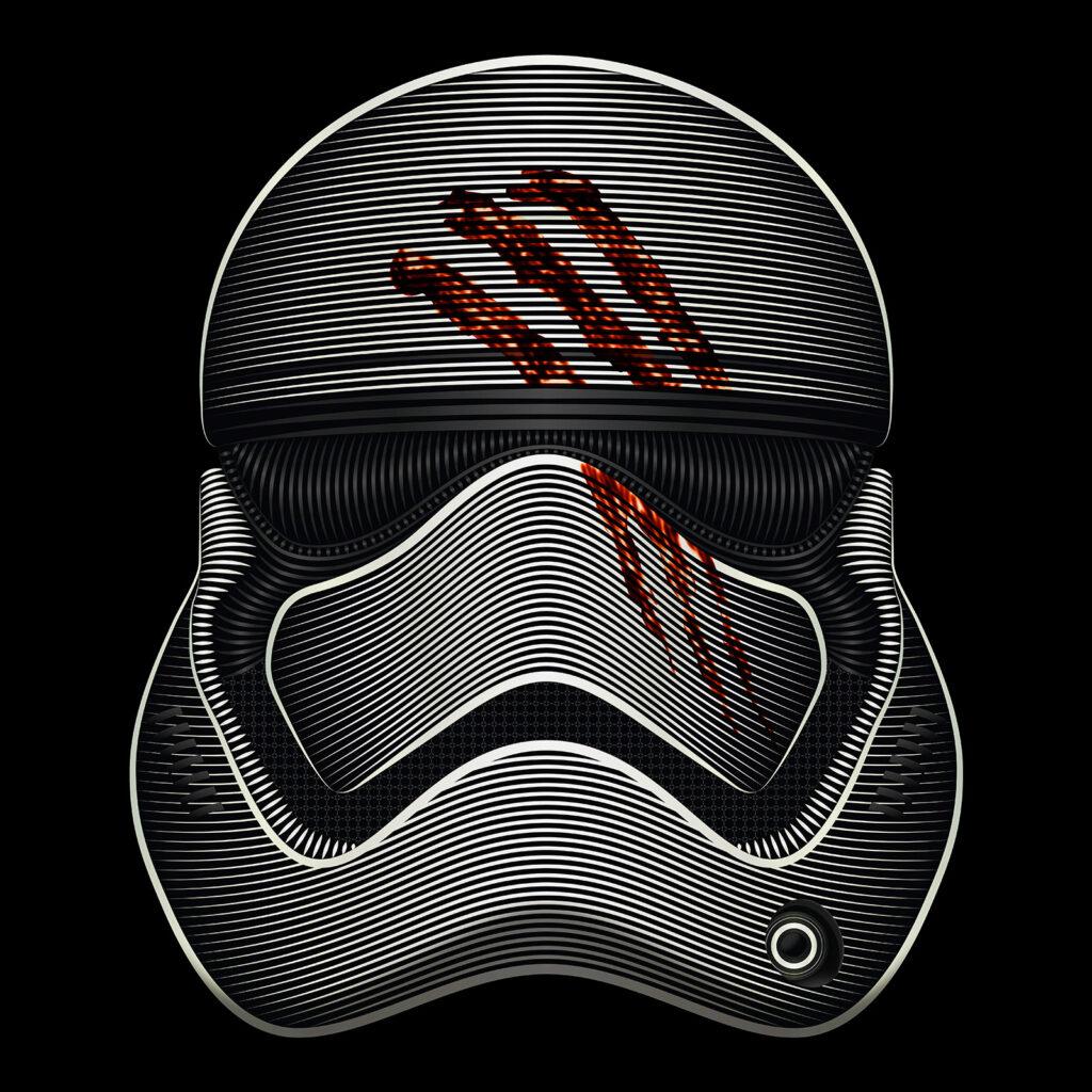 Star Wars Art Illustration FN-2187 Finn New_Order