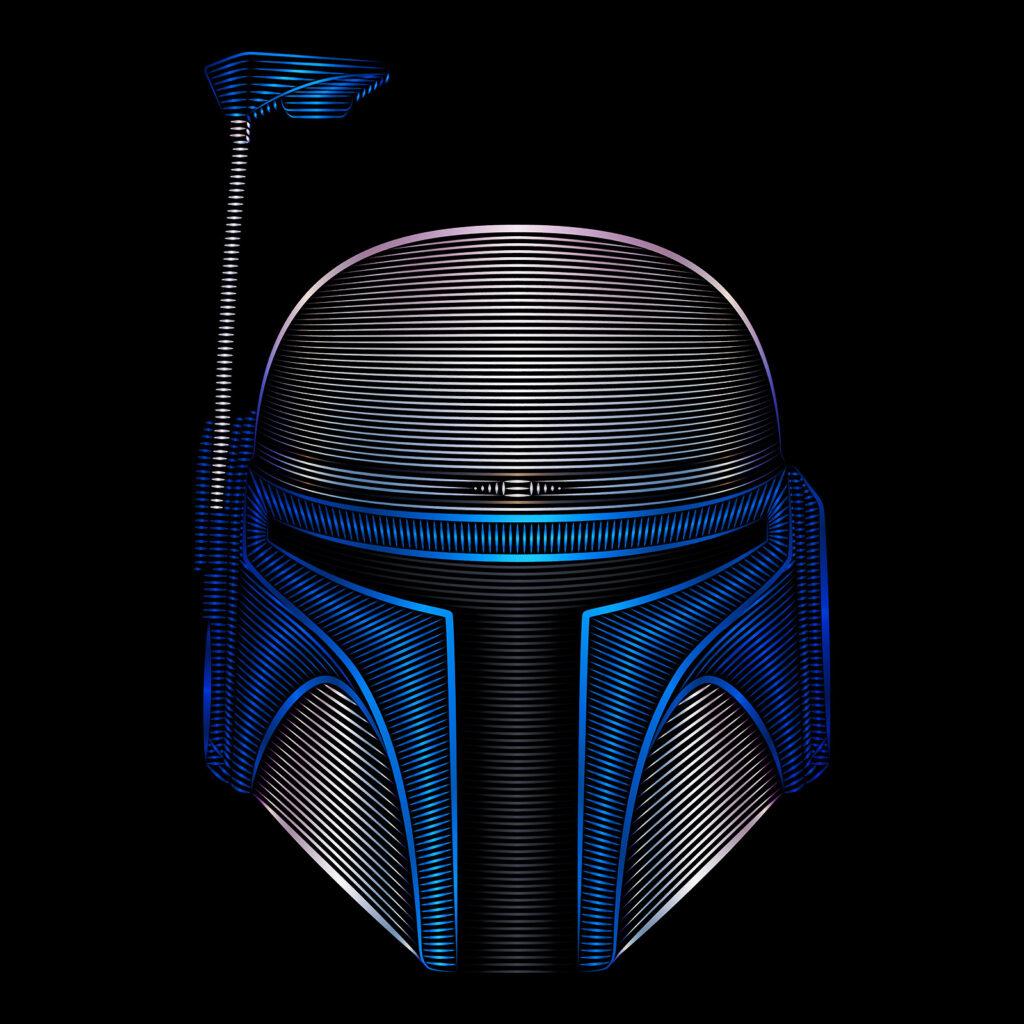 Star Wars Art Illustration Jango Fett Mercenary