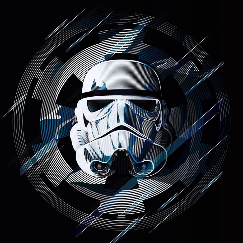 Star Wars Art Illustration Stormtrooper Galactic Empire
