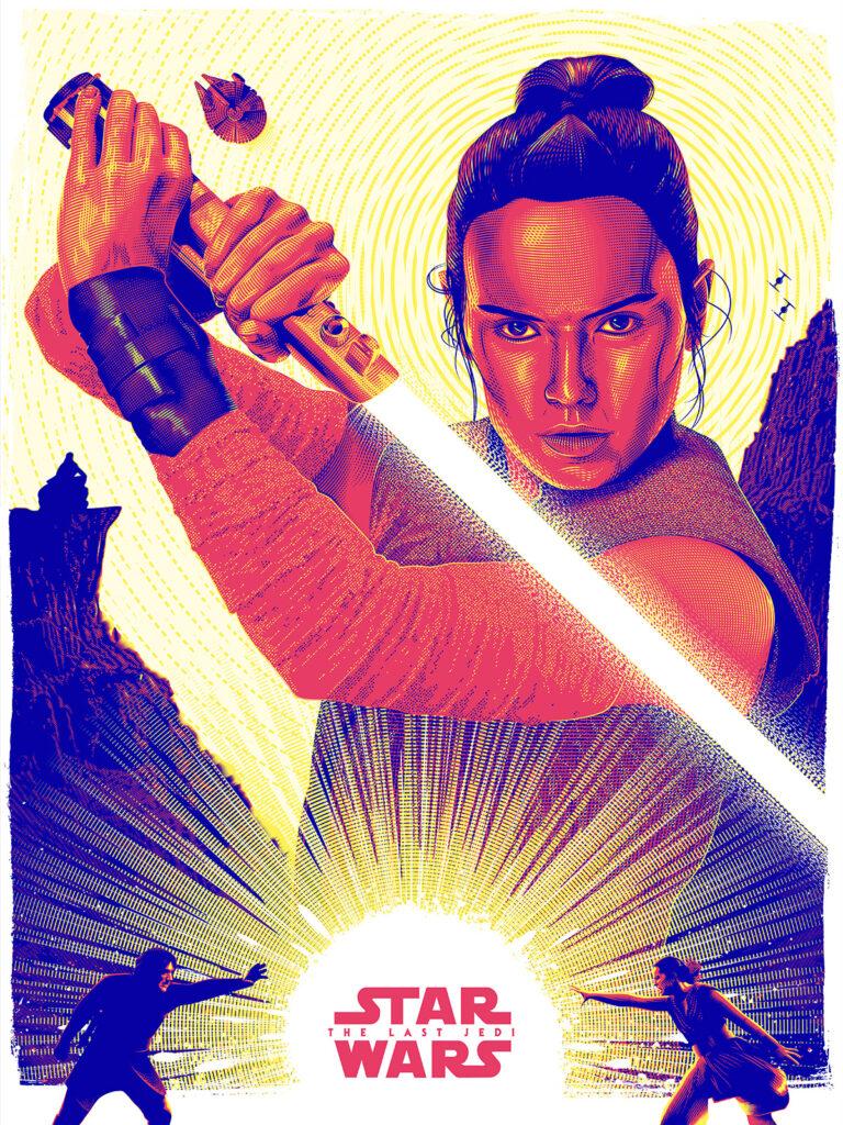 Star Wars Art The Last Jedi Poster