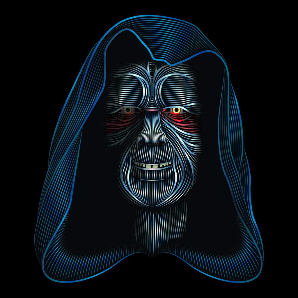 Star Wars Character Illustration Darth Sidious