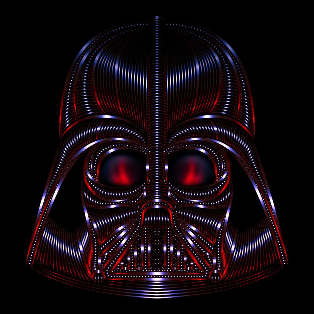Star Wars Character Illustration Darth Vader