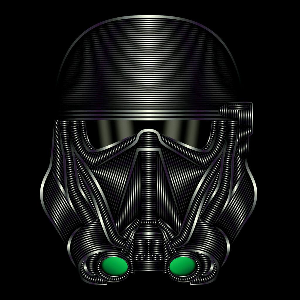Star Wars Character Illustration Death Trooper New Order