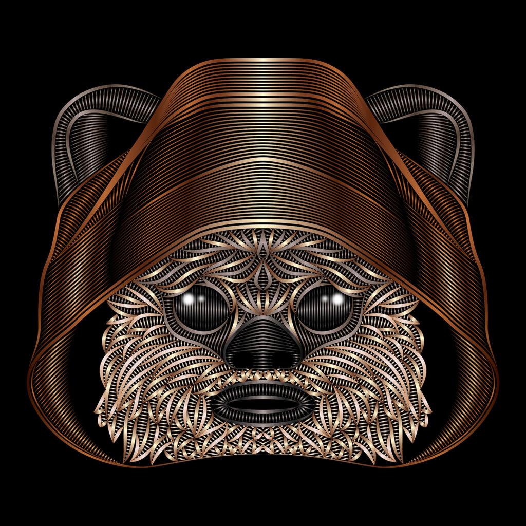 Star Wars Character Illustration Ewok