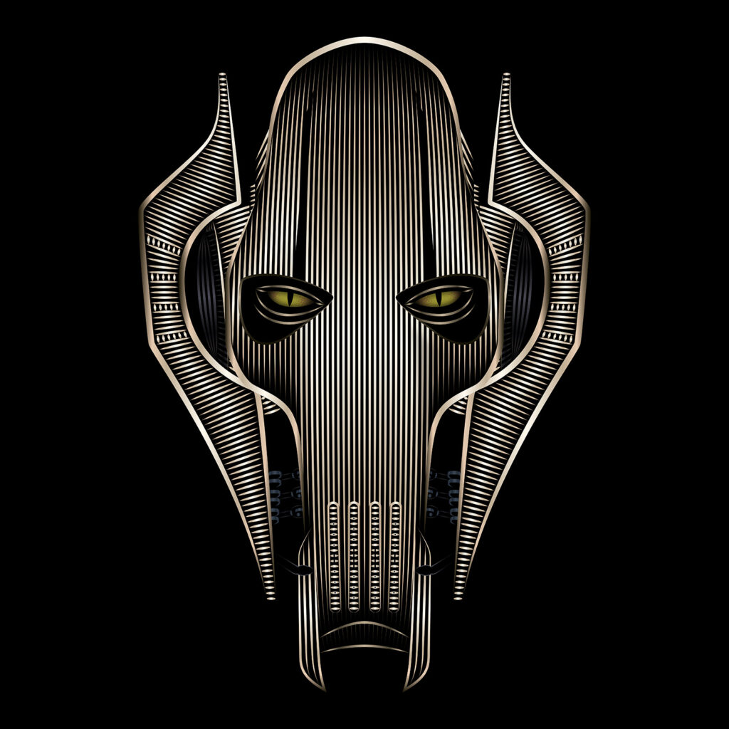 Star Wars Character Illustration General Grievous
