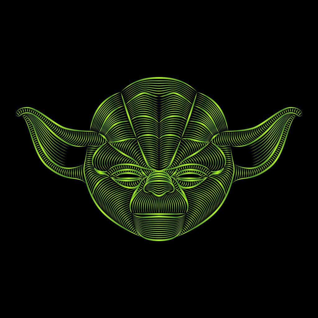 Star Wars Character Illustration Yoda