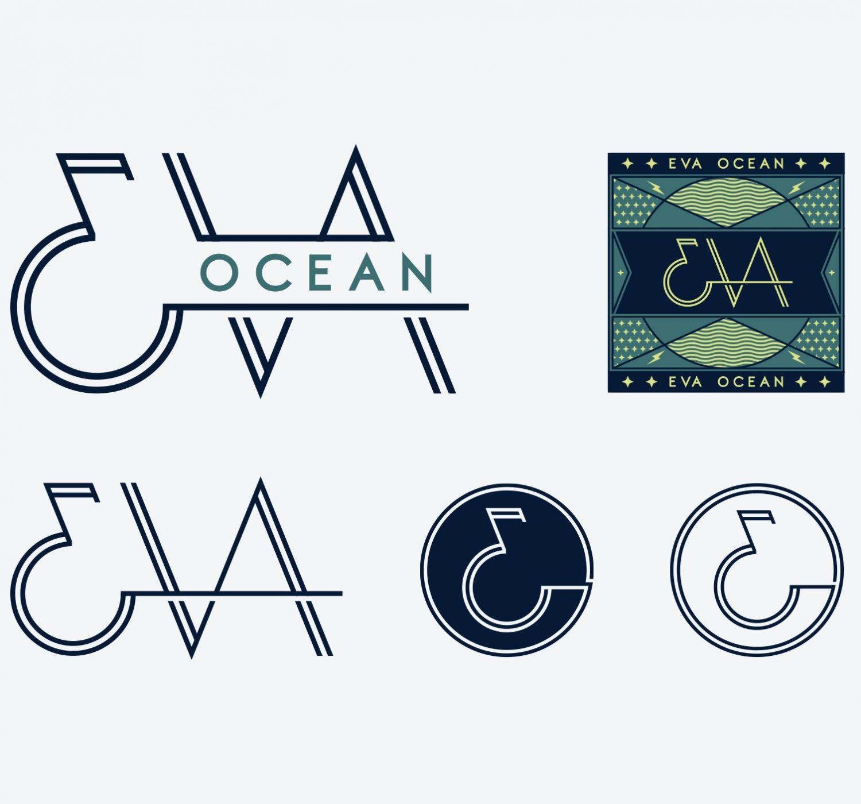 Eva Ocean Branding Logo System Design