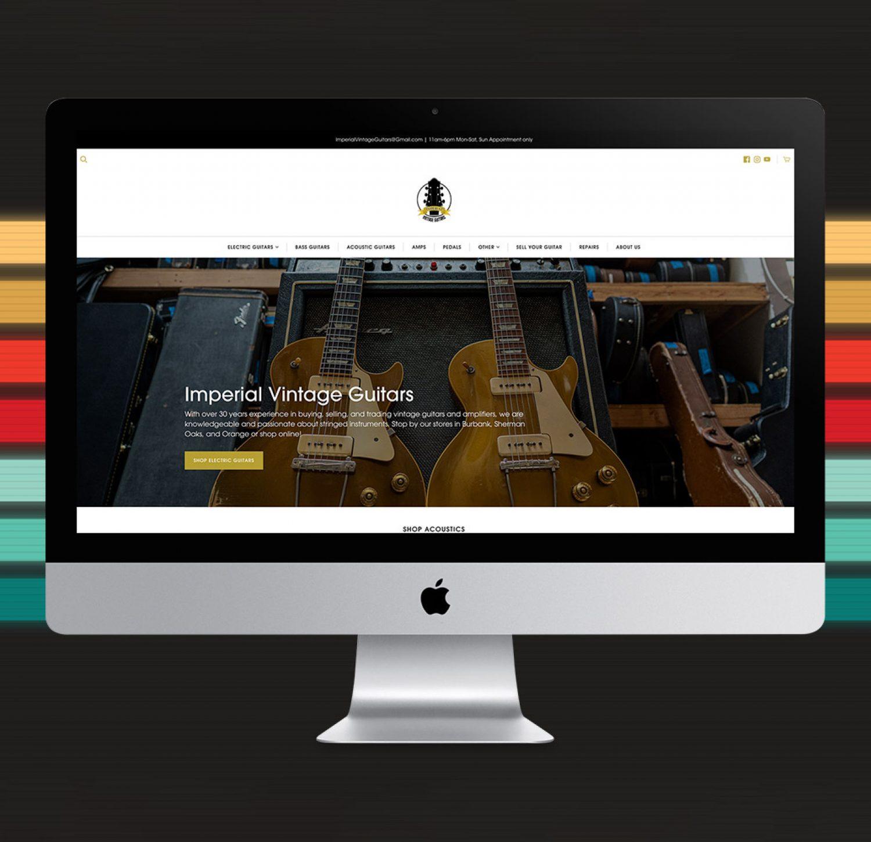 Gold Sheep Design Capabilities Website Design