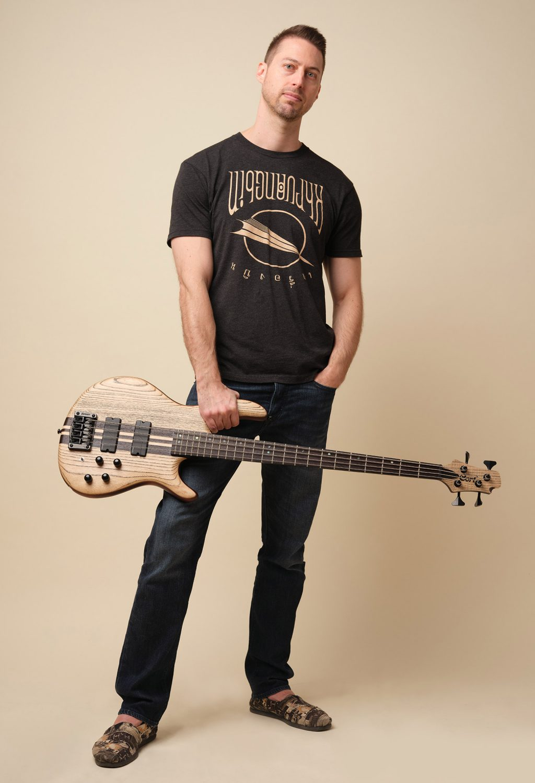 Gold Sheep Design Nathan Owens Bass Guitar