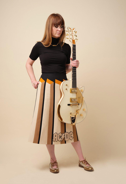 Gold Sheep Design Stephanie Owens Guitar