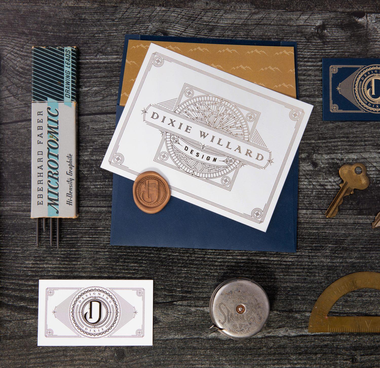 Designing Dixie Branding Materials